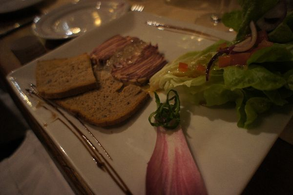 牛タンを使った前菜