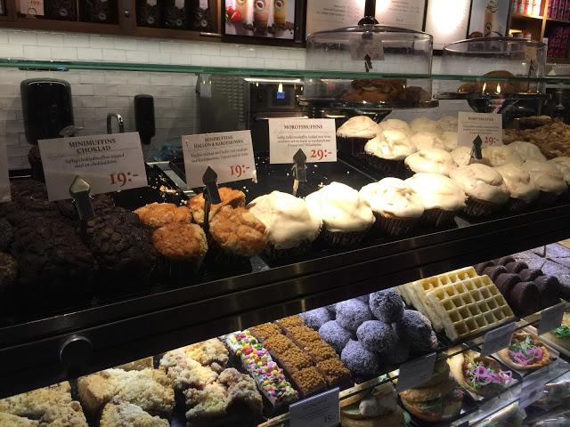ストックホルムのスタバ的存在?ESPRESSO HOUSEのお菓子たち。価格も魅力的