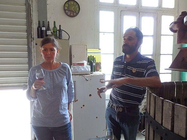 奥様とSébastien Benoit Poujad