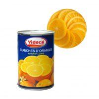 オレンジスライス皮付